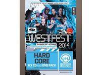Westfest 2014 - Hardcore CD Pack