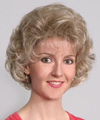 50'S WOMENS OLD LADY SHORT WAVY CURLY SHAG WIG GOLDEN GIRLS ROSE BETTY BARBARA](Old Lady Wig)