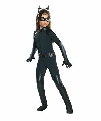 Child Catwoman Costume Small 3-4 years Size 4-6 Dark Knight Trilogy by Rubie's  (Catwoman Baby Costume)