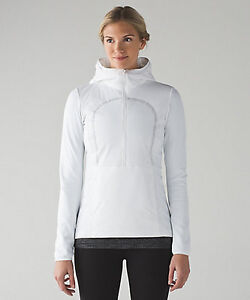 Lululemon Run for Cold Pullover, NWT, white - $125