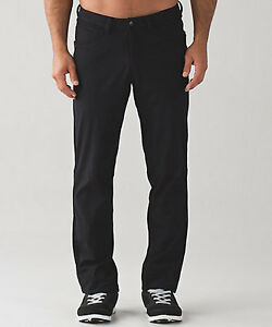 Lululemon Men's ABC pant (Black)