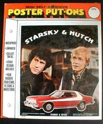 STARSKY & HUTCH Poster Put-On 1976 Sealed near MINT