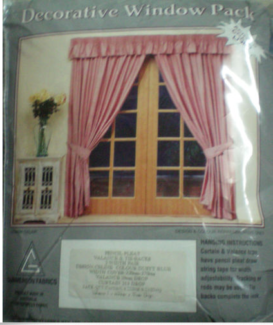 CURTAIN PACK PENCIL PLEAT/VALANCE BRAND NEW