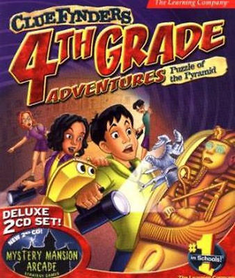 ClueFinders 4th Grade  Math Language Arts Science Problem Solving  New 2 CD Set