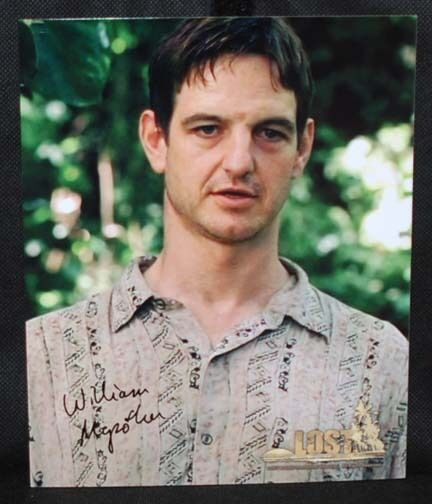 William Mapother LOST TV SERIES AUTOGRAPH