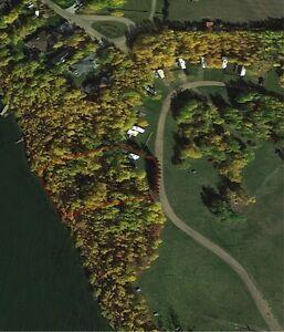 Waterfront fully serviced treed RV lot at Halfmoon Lake Resort Strathcona County Edmonton Area image 10