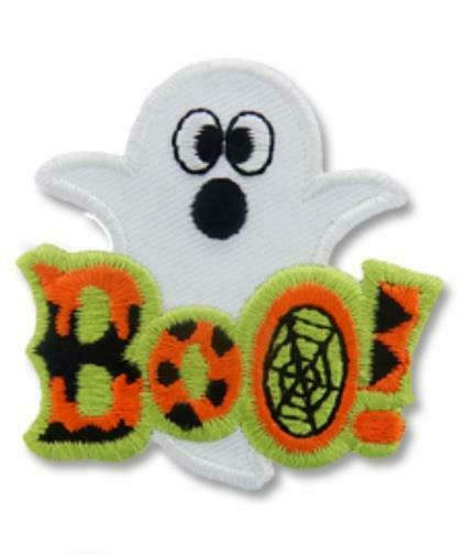 Girl Boy Cub BOO! Ghost Halloween Fun Party Patches Crests Badges SCOUT GUIDES