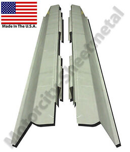 1986-91 FORD TAURUS MERCURY SABLE 4DR OUTER ROCKER PANELS NEW PAIR !