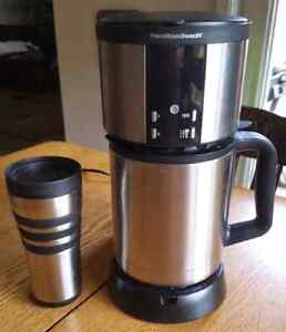 Hamilton Beach Coffeemaker.  1-10 cup and Single Serve Cup.