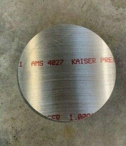 """1"""" Aluminum Disc x 11"""" Diameter, Circle, Round, 6061 Aluminum"""