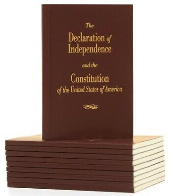 Declaration of Independence and Constitution of the United States - Pocket Book