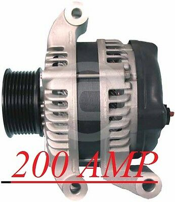 FORD HIGH AMP ALTERNATOR F-250 350 450 550 Super Duty V8 6.4L Diesel 2008-2010