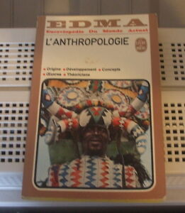 L'Anthropologie de EDMA encyclopédie vintage