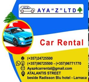 car rental in cyprus AYA Z LTD