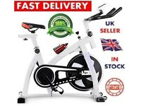 Exercise Bike Cycle - Fitness Workout Machine Gym Magnetic Trainer Cardio Gym Stationary 07540548080