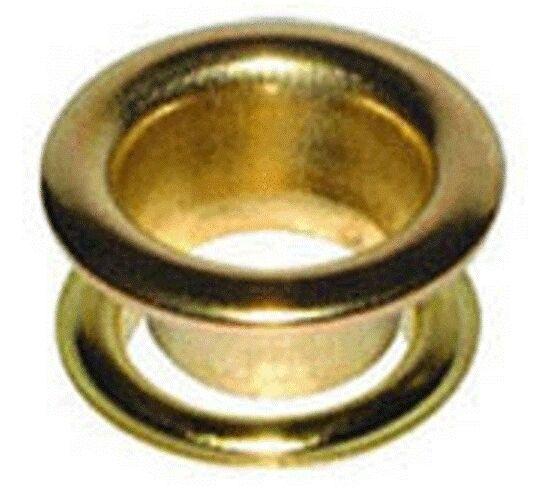 "W4 Brass Eyelets 1/2"" 13mm (10 pcs) 37652 *Multi buy Discounts*"