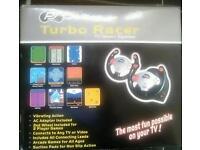 Turbo racer TV game system
