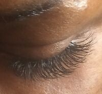 Eyelash Extension services/Extensions de cils