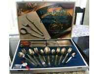 VINERS 44 PIECE CANTEEN OF CUTLERY - NEW