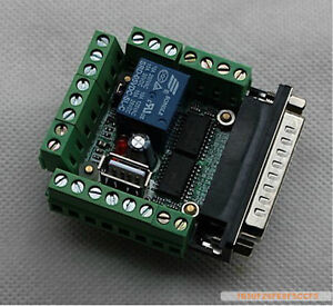 CNC-Stepper-Motor-Driver-Board-MACH3-6-Axis-Interface-Breakout-Board-Adapter