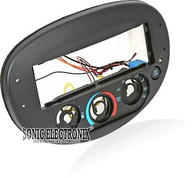Scosche FD136010B Specialty Single DIN Install Dash Kit for 1997-03 Ford Escort