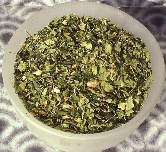 Moringa Tee Blätter 100 % Premium Auslese 100g   Meeretichbaum  oleifera pf