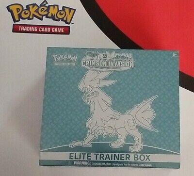 Pokemon TCG: Sun & Moon Crimson Invasion - Elite Trainer Box ETB New Sealed!!