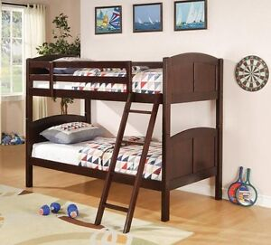 SINGLE/SINGLE CAPPUCCINO FINISHED Bunk Bed
