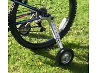 Heavy duty bicycle stabilisers