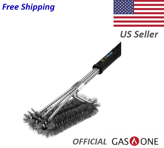 bbq grill brush stainless steel barbecue cleaner