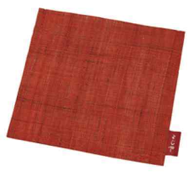 F/S Yojiya Case for Aburatorigami Face Oil Blotting Paper Hemp Madder Red Japan