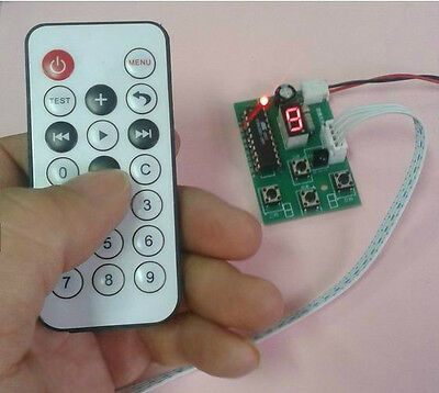 Stepper Motor Driver Controller Board Speed Adjustable With Remote Control
