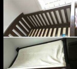 Cot mattress and change table Denman Muswellbrook Area Preview