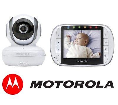 NEW Motorola MBP36S Digital Video Baby Monitor Portable Camera w/ Night Vision