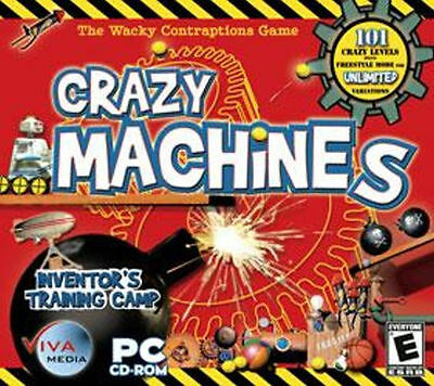 Crazy Machines Inventor's Training Camp  Ultimate Brain-Teasing Puzzle Game  NEW