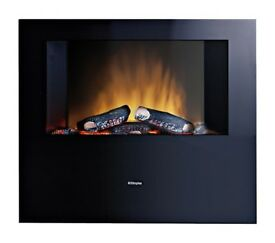 Dimplex Obsidian Wall Mounted Remote Control Electric Fire | OBS20