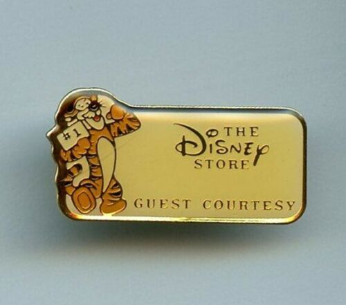 The Disney Store Cast Award Guest Courtesy Tigger WHITE Version Pooh Pin