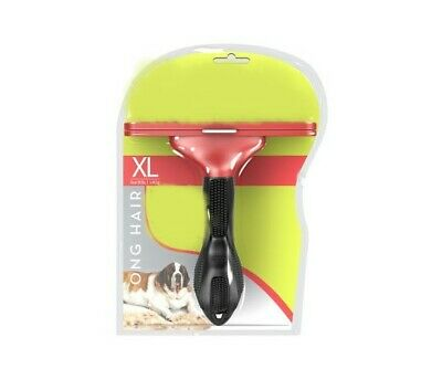 """Long Hair XL Grooming deShedding Professional for Large Dogs 5"""" Inch Tool"""