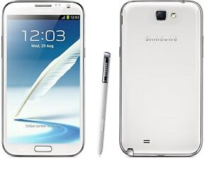 New Samsung Galaxy Note 2 II GT-N7100 16GB White FACTORY UNLOCKED Quad Core 5.5