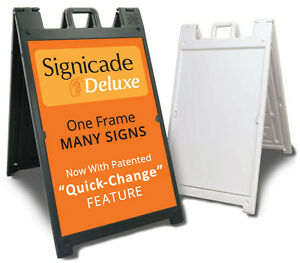 Signicade Deluxe A Board Sign Board, Very Sturdy.