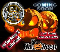 Hire DJ Daddy Mack for Halloween Coming! Booo