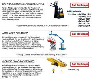 Training - Lift Truck / Forklift Operator Windsor Region Ontario image 2