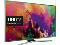SAMSUNG 50 INCH 4K SMART LED TV. UHD NANO CRYSTAL UE50JU6800