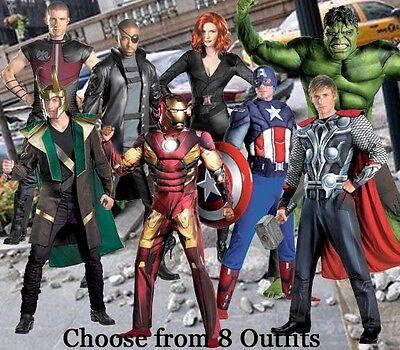 Womens Loki Costume (Adult Marvel Avengers Iron Man Captain America Thor Hulk Blk Widow Loki)