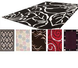Moderne Teppiche 15 Designs Kurzflor Teppich Gr??e 160x230cm, braun, beige etc.