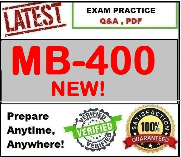 MB-400 MS Power Apps + Dynamics 365 Developer~ NEW 2020 Exam Q&A