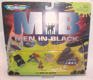 Galoob Micro-Machines Men in Black #4 Figure & Vehicle Set Carded