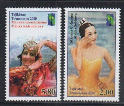 TAJIKISTAN Malika Kalandarova, Dancer MNH set