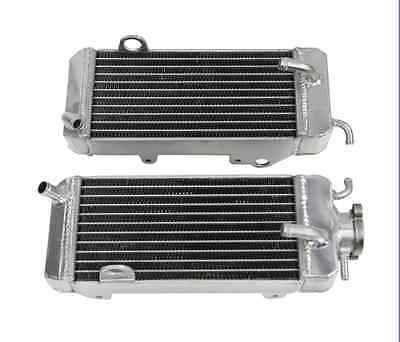 2ROW 40MM ALUMINIUM RADIATOR FOR 1986 1989 <em>YAMAHA</em> YZ250 1987 1988 ENGI
