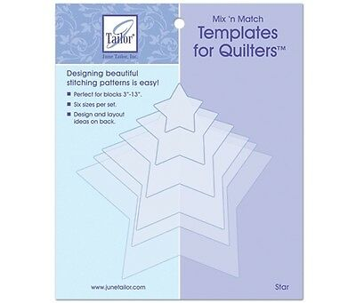June Tailor Mix'n Match Appliqué Templates - Star